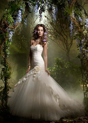 Lazaro Bridal Dresses Style 3955 by JLM Couture, Inc.