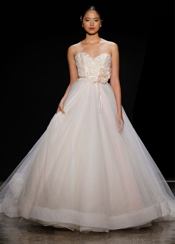 Lazaro Bridal Gowns, Wedding Dresses Style LZ3403 by JLM Couture, Inc.