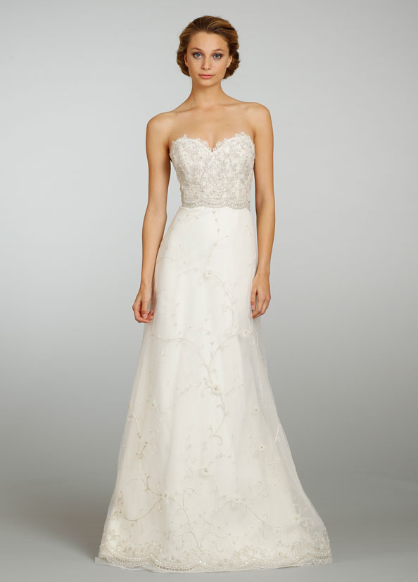 Lazaro Bridal Gowns, Wedding Dresses Style LZ3305 by JLM Couture, Inc.