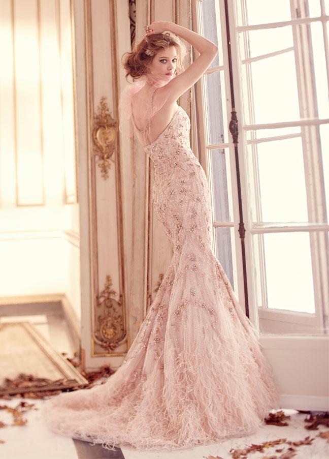 254f40fa072c Pink Lazaro Wedding Dress. Lazaro Fall 2012 Wedding Dresses Wedding ...