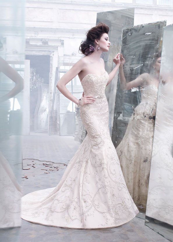 Lazaro Bridal Gowns, Wedding Dresses Style LZ3262 by JLM Couture, Inc.