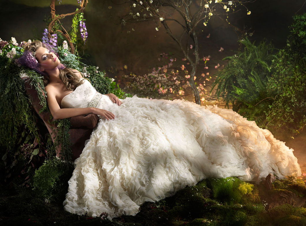 Lazaro Bridal Gowns, Wedding Dresses Style LZ3000 by JLM Couture, Inc.
