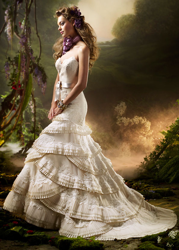 Lazaro Bridal Gowns, Wedding Dresses Style LZ3006 by JLM Couture, Inc.