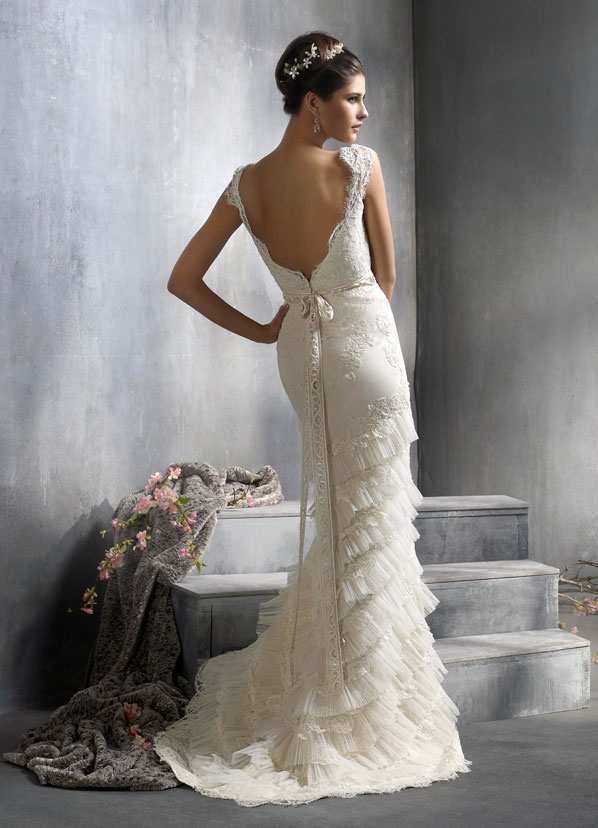 Lazaro Bridal Gowns, Wedding Dresses Style LZ3818 by JLM Couture, Inc.