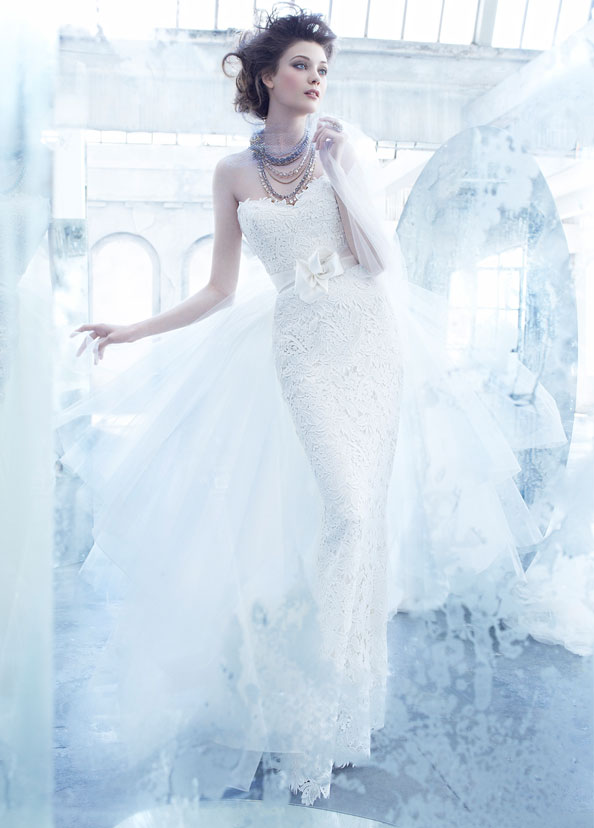 Lazaro Bridal Gowns, Wedding Dresses Style LZ3357 by JLM Couture, Inc.