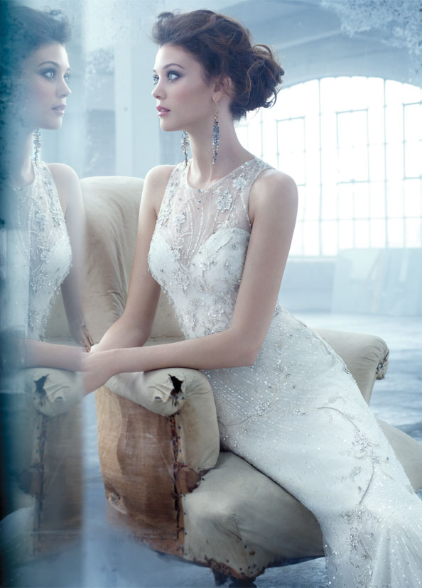 Lazaro Bridal Gowns, Wedding Dresses Style LZ3302 by JLM Couture, Inc.