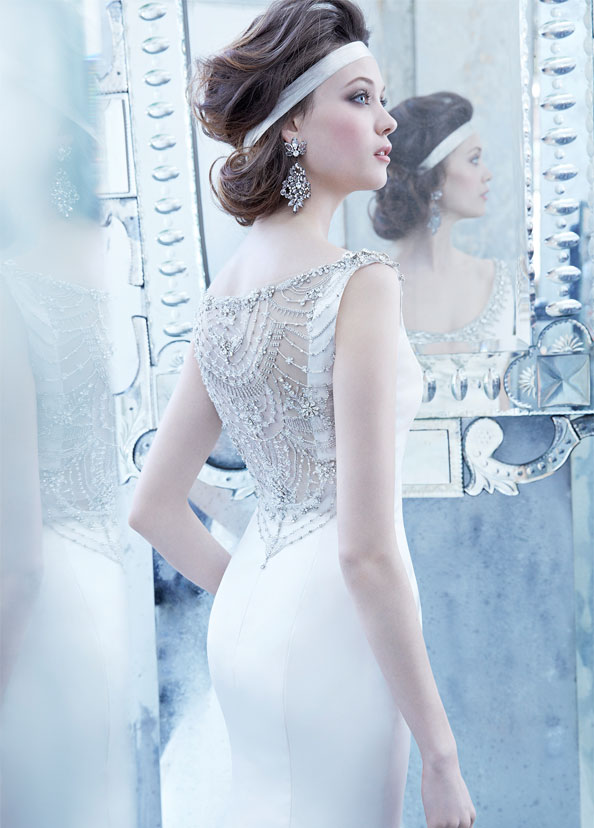 Lazaro Bridal Gowns, Wedding Dresses Style LZ3353 by JLM Couture, Inc.