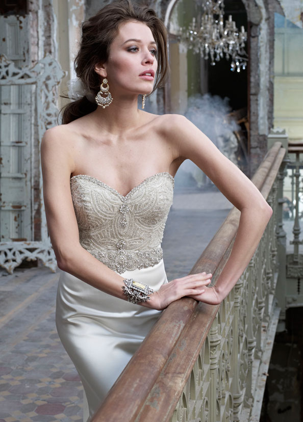 Lazaro Bridal Gowns, Wedding Dresses Style LZ3214 by JLM Couture, Inc.