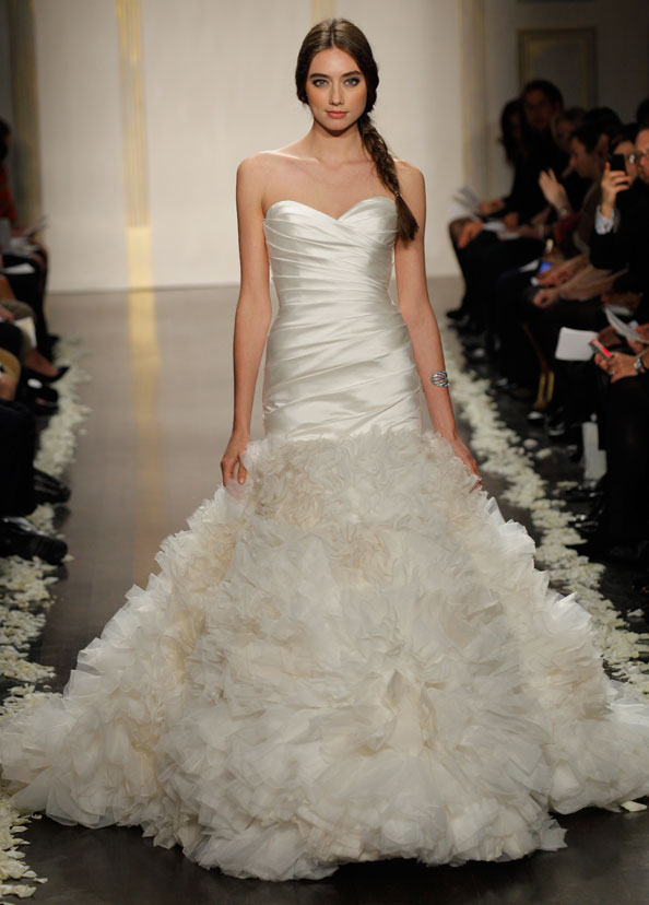 Lazaro Bridal Gowns, Wedding Dresses Style LZ3208 by JLM Couture, Inc.