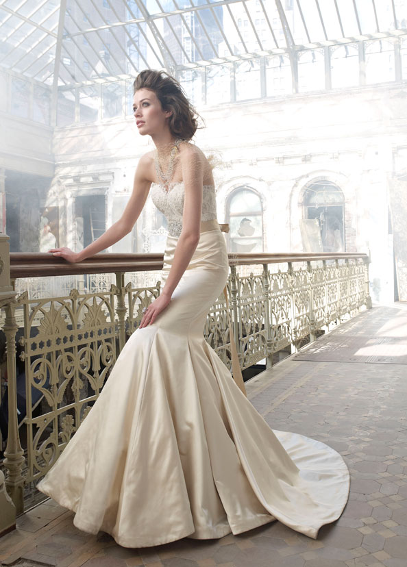 Lazaro Bridal Gowns, Wedding Dresses Style LZ3207 by JLM Couture, Inc.
