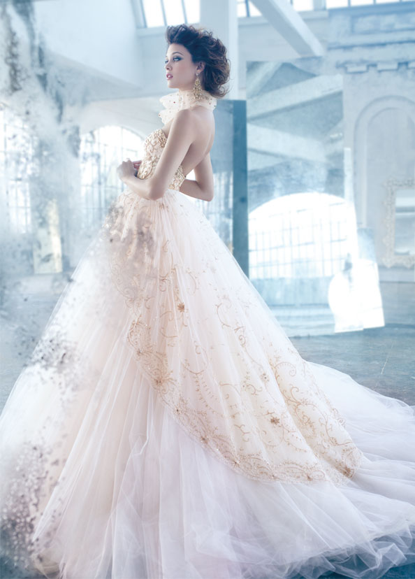 Lazaro Bridal Gowns, Wedding Dresses Style LZ3315 by JLM Couture, Inc.