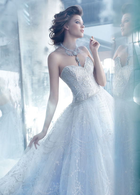 Lazaro Bridal Gowns, Wedding Dresses Style LZ3320 by JLM Couture, Inc.