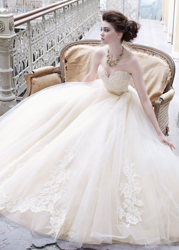 Lazaro bridal gowns wedding dresses style lz3251 by jlm couture inc