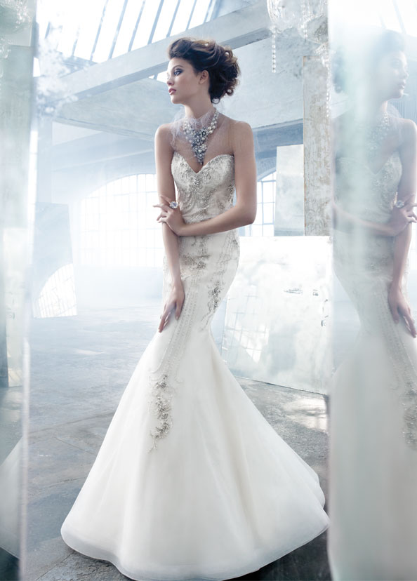 Lazaro Bridal Gowns, Wedding Dresses Style LZ3306 by JLM Couture, Inc.