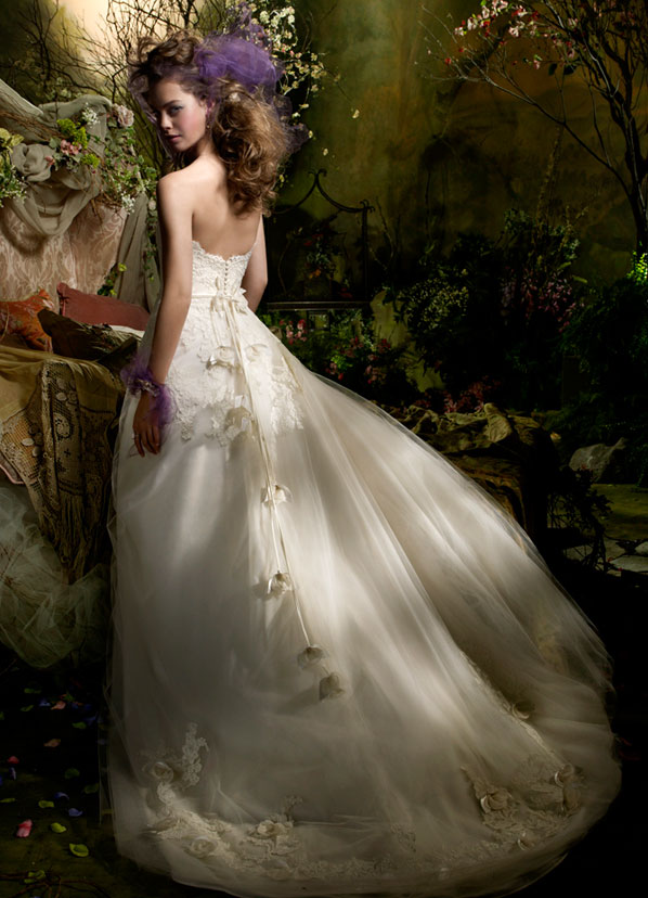 Lazaro Bridal Gowns, Wedding Dresses Style LZ3962 by JLM Couture, Inc.
