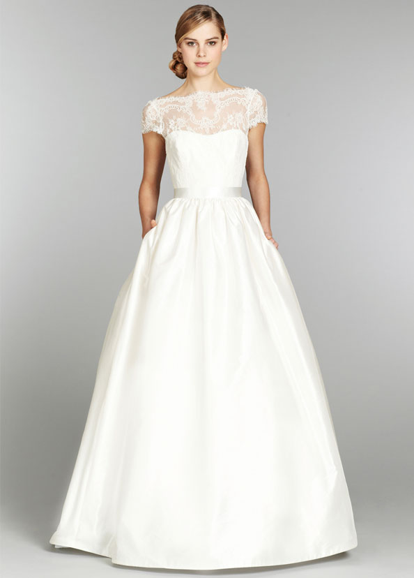 Bridal gowns wedding dresses by tara keely style tk2357 for Wedding dress neckline styles